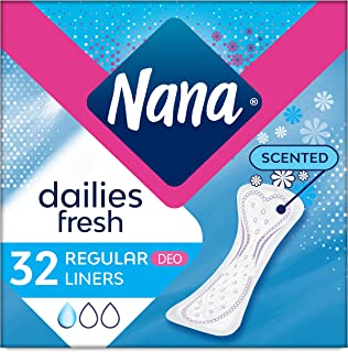Nana Panty Liners, Normal, Scented, Pack of 32