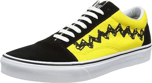 Vans Old Skool, Scarpe Running Uomo, Giallo (Charlie Brown/Black ...