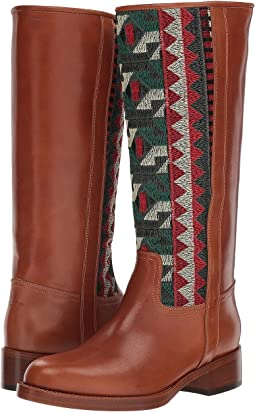 Embroidered Tall Boot