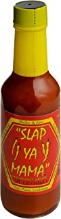 Slap Ya Mama All Natural Louisiana Style Hot Sauce, Cajun Hot Flavor, 5 Ounce