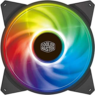 Cooler Master MasterFan 140mm Addressable RGB ARGB 140mm Fan - Black Frame - R4-140R-15PC-R1