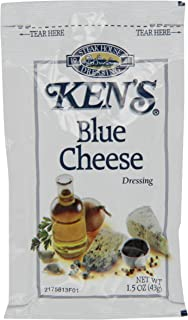 Ken's Dressing, Blue Cheese, 1.5 Ounce, 60 Count