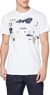 G-STAR RAW Running Dog Logo+ Camiseta para Hombre