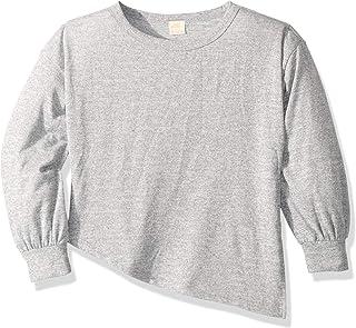 O'Neill Girls Fa8810003 Flourish Fashion Fleece Pullover Sweater - Gray