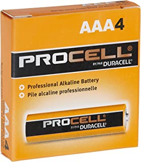 DRCPC2400BKD - Pilhas industriais Procell AAA-Cell alcalinas