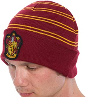 2bfe9d3bcac HARRY POTTER All Houses Cuff Beanie Gryffindor Ravenclaw Hufflepuff  Slytherin