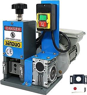 """Automatic Electric Wire Stripper Machine 0.06""""-1"""" Wire Stripping Machine 180W Automatic Wire Strippers For Recycling Scrap..."""