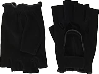 LEZAX(レザックス) JOYFIT シープスエードグローブ 半指羊革 黒 PS-1