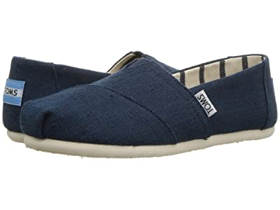 TOMS Seasonal Classics (Majolica Blue Heritage Canvas) Women