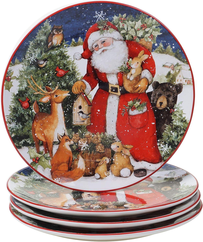 Certified International Magic Popular product Of Christmas Dinner Santa 11