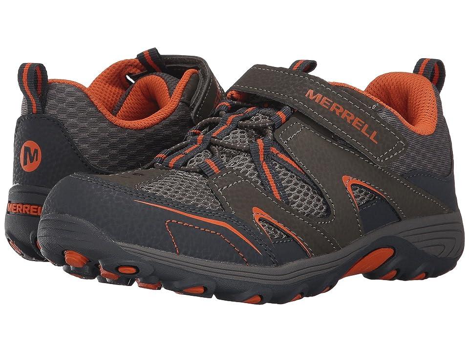 Merrell Kids Trail Chaser (Little Kid) (Gunsmoke/Orange) Boys Shoes