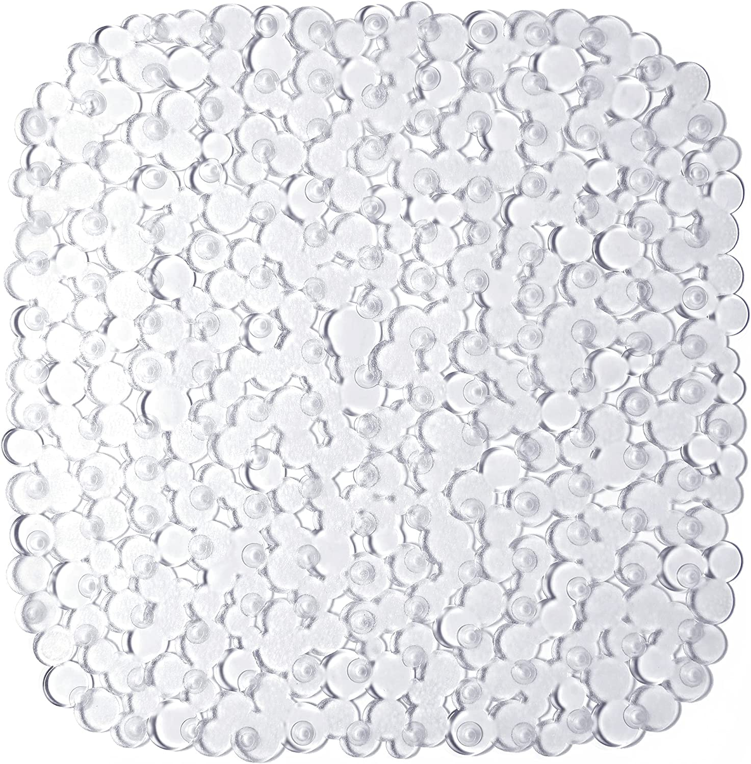 Bathsafe Inexpensive Oval Corner Square Pebbles Bathtub 21x21 for Safety and trust Mat Shower