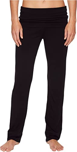 Splendid - Convertible Roll Over Pants Solid