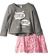 Kate Spade New York Kids - Copycat Skirt Set (Infant)