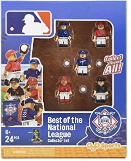 Oyo Sports Baseball Figure Pack Building Set - The Best Of The National League