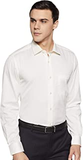 Louis Philippe Men's Striped Slim Fit Formal Shirt