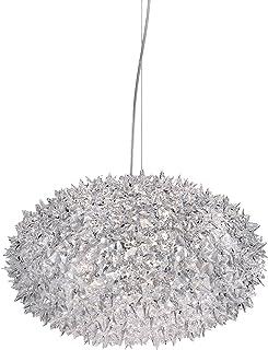 Kartell Bloom, Lampe de Suspension, Moyenne, Cristal