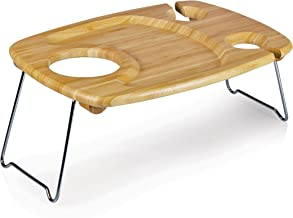 LEGACY - a Picnic Time Brand Mesavino Portable Wine and Snack Table