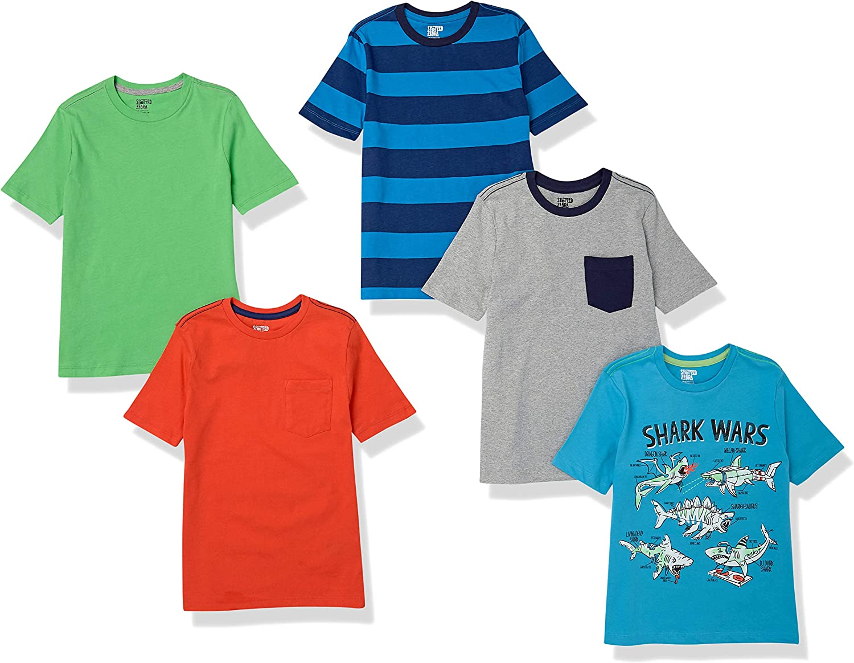 Spotted Zebra Boys' Short-Sleeve T-Shirts