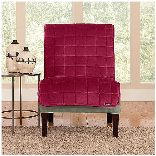 Armless Chair Slipcovers: Amazon.com