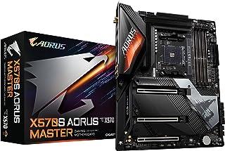 GIGABYTE X570S AORUS MASTER Rev.1.0 マザーボード ATX [AMD X570チップセット搭載] MB5514