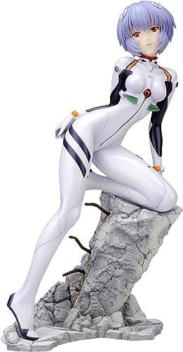 Evangelion - Rei Ayanami Plug Suit Style - 1 7 Scale 22cm Tall PVC Figure (japan import)