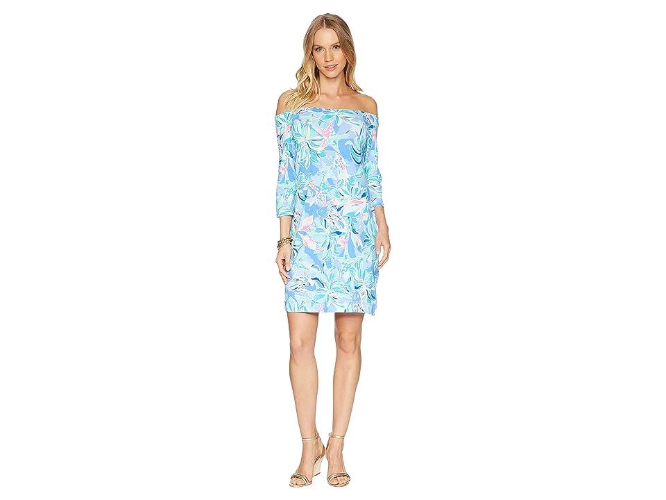 Lilly Pulitzer Laurana Dress (Bennet Blue Celestial Seas) Women
