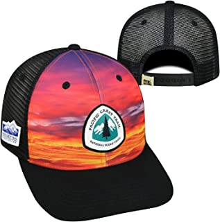 Pacific Crest Trail Adjustable Two Tone Cap