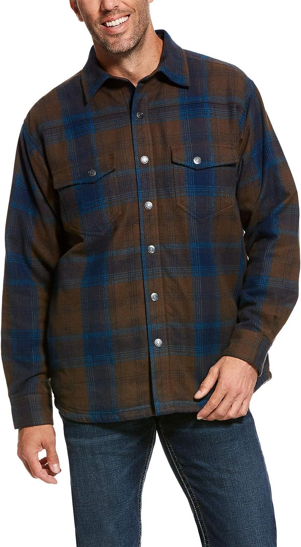 ARIAT Men's Fury Flannel Snap Shirt Jacket