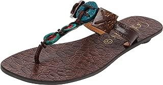 Catwalk Brown Slip-on Sandals