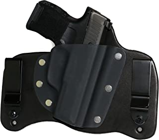 FoxX Holsters Compatible Sig Sauer P365 in The Waistband Hybrid Holster Tuckable, Concealed Carry Gun Holster