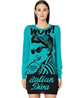 Boutique Moschino - Pinup Sweater Dress