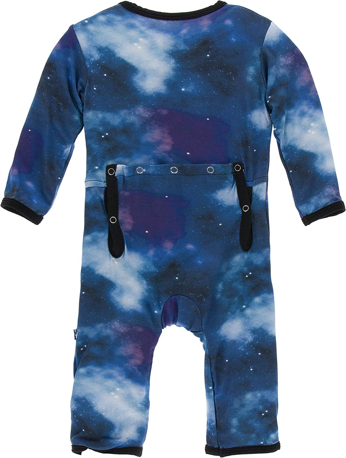 KicKee Pants Print Coverall with Zipper