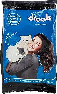 Drools Adult (+1 Year) Dry Cat Food, Ocean Fish, 400g (Buy 2 Get 1 Free)