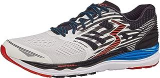 361 Degrees Men's Meraki High Performance Everyday Training Lightweight Running Shoe, White/Black, 9.5