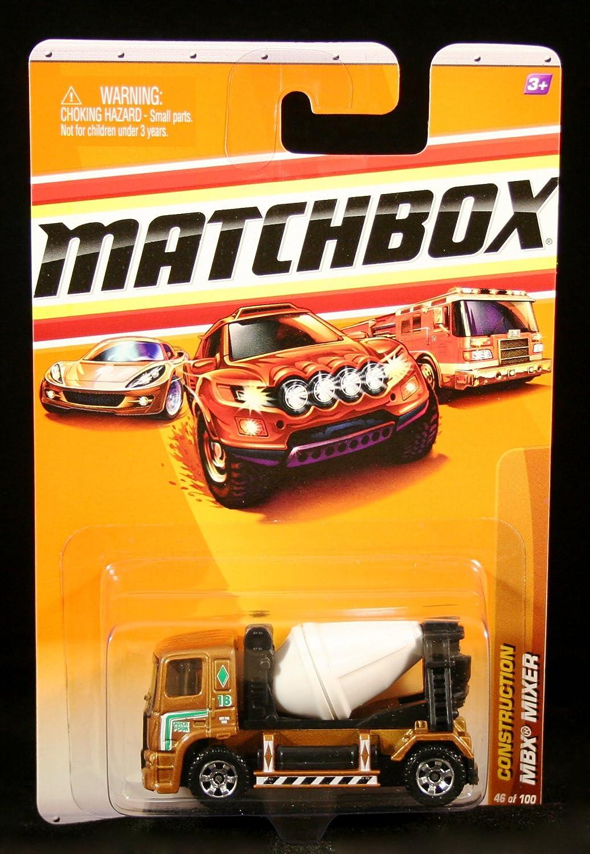 mejor vendido MBX MIXER Construction Series ( 10 of 14) MATCHBOX MATCHBOX MATCHBOX 2010 Basic Die-Cast Vehicle ( 46 of 100) by Mattel  ganancia cero