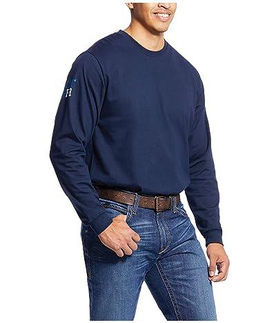 Ariat FR Americana Graphic T-Shirt (Navy) Men