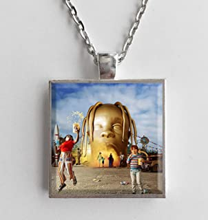 Album Cover Art Necklace Travis Scott Astroworld