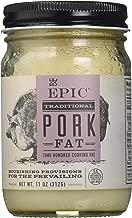 EPIC Organic Pork Fat, 11oz jar