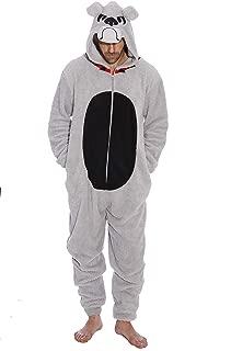 #followme Bulldog Adult Onesie Pajamas