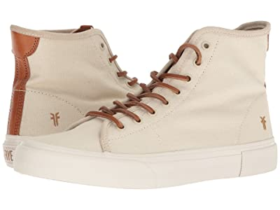 Frye Ludlow High (Off-White Canvas) Men