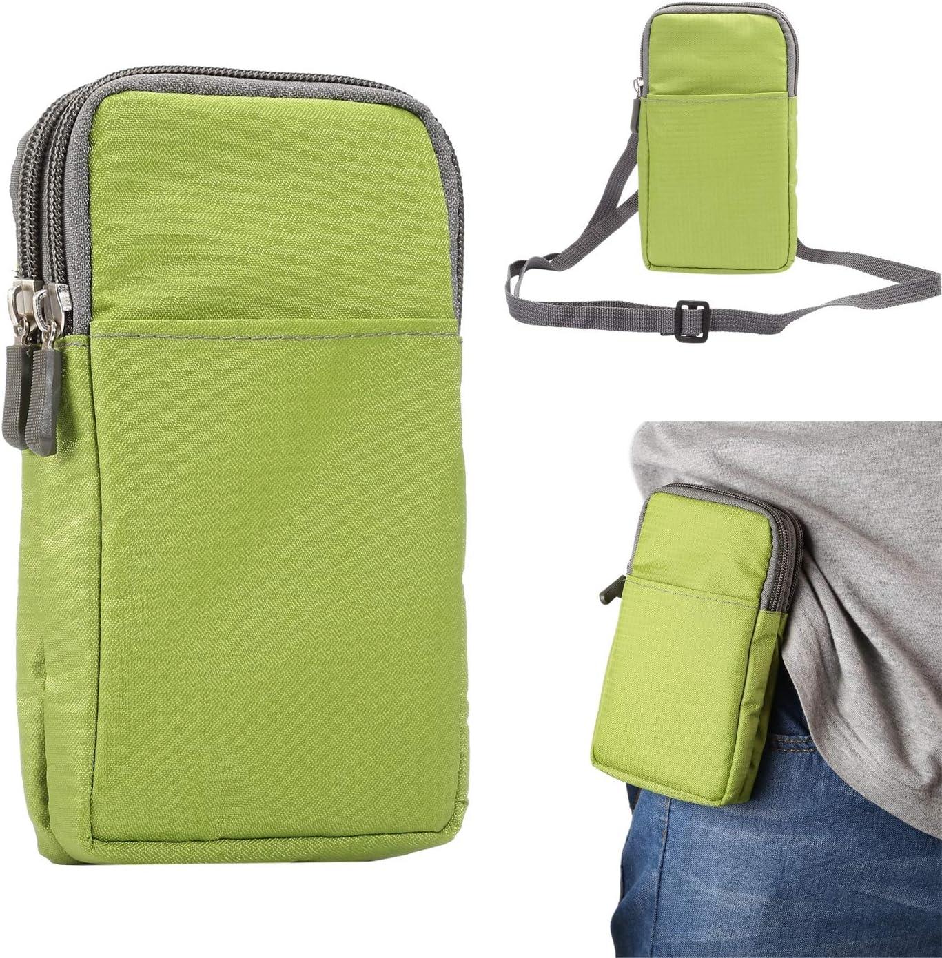 Sports Running Belt Waist Pack, Small Crossbody Bags for Men Women, 6.0 Inch Phone Wallet Case Pouch Shoulder Bag Belt Clip Holster Waist Bag Travelling Money Cell Phone Holder ( Color : Green )