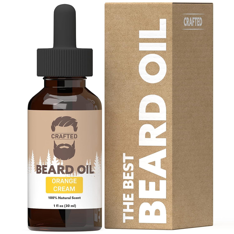 Gifts Best Beard Oil for men – Soldering Crafted Orange Conditioner -