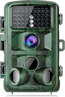 TOGUARD Trail Camera 14MP 1080P Game Cameras with Night Vision Motion Activated Waterproof Wildlife Hunting Cam 120° Detec...