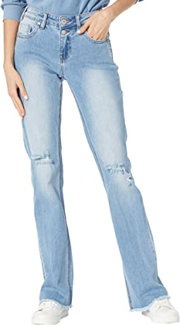 Mid-Rise Bootcut in Light Wash W1-8214