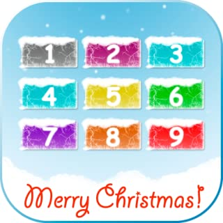 Christmas baby phone – cute game with numbers, winter characters and song for kids