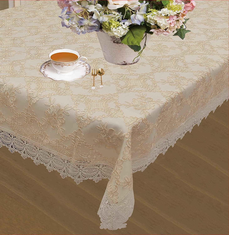 祝日 受注生産品 Violet Linen Botany Bridal Embroidered Emblem Design Floral Lace