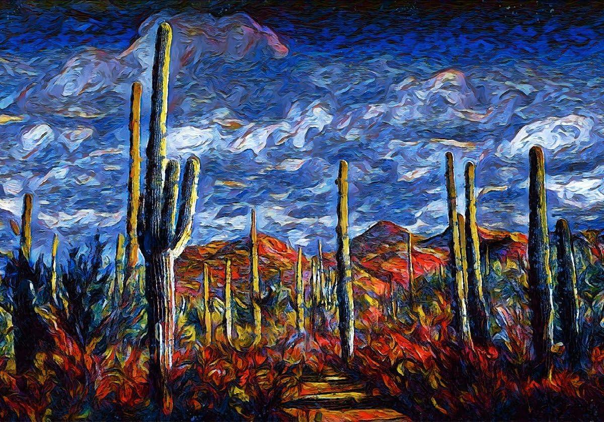 Castle Rye Saguaro half OFFicial mail order National Park Sc Southwest Landscape Desert