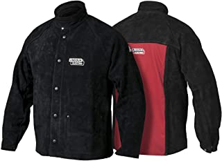 Lincoln Electric Heavy Duty Leather Welding Jacket | Ideal for High Amperage or Out of Position Welding | XXL | K2989-XXL