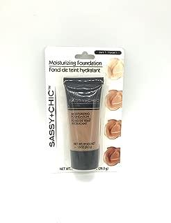 Sassy and Chic Moisturizing Foundation - Dark 1